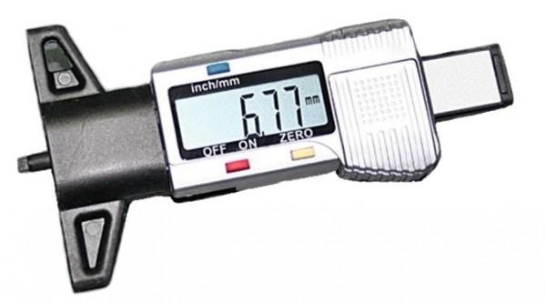 Profiltiefenmesser, digital